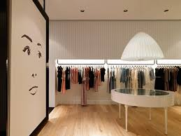 image gallery of modern clothing store interior