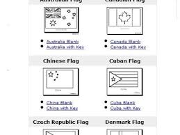 Denmark Flag Coloring Page 14 Flags Of The World Pages Free