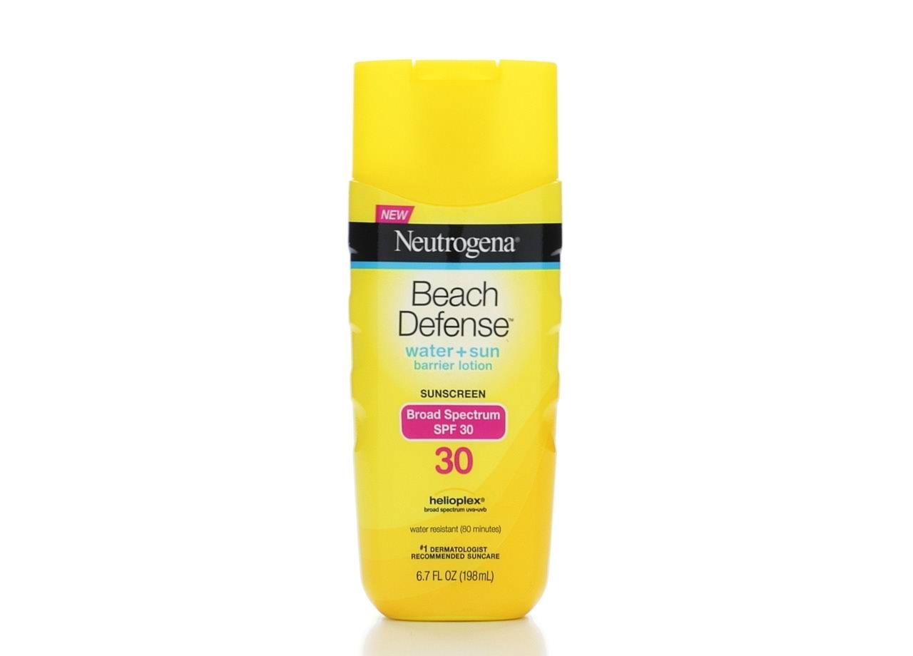 Neutrogena Beach Defense Sunscreen Lotion - Broad Spectrum, SPF 30, 6.7oz
