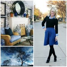 Outfit Inspiration Black Blue