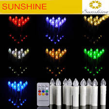 Wholesale Colour Changing LED Flameless Christmas Tree Candles Lights