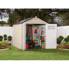 6 X 6 Rubbermaid Storage Shed by Rubbermaid 1825260 Outdoor Resin Storage Shed 7 U0027 X 10 U00276