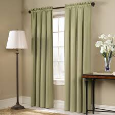 Amazon Curtain Rods Long by Amazon Com United Curtain Blackstone Blackout Window Curtain
