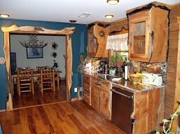 Kitchen Cabinet Rustic Style Cabinets Custom Western