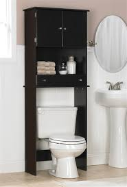 Glamorous Brilliant Bathroom Cabinet Over Toilet Cabinets At Storage