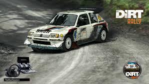 Peugeot 205 T16 Evo 2 480 cv Rally Group B Scratch 1 Fferm Wynt