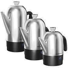 Hamilton Beachreg Stainless Steel Coffee Percolators