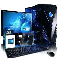 pc de bureau gamer pas cher ordinateur bureau gamer pas cher vibox shock wave 9 pc gamer pc de
