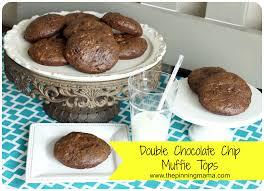 Panera Pumpkin Muffin Recipe by Copycat Double Chocolate Chip Muffins The Pinning Mama