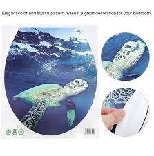 bicaquu 2 stücke lustige wc aufkleber seaworld muster marker