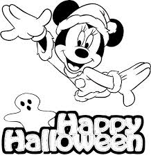 Halloween Disney Coloring Pages To Print