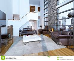 100 Interior Design High Ceilings Of Cozy Modern Living Room Stock Image Image Of
