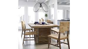 Crate And Barrel Dining Room Chairs by Paloma Ii Reclaimed Wood Dining Table Crate And Barrel
