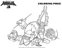 Bekijk Kungfu Panda 3 Kai De Stier Is Slechterik Kleurplaat Find This Pin And More On Printable Coloring Pages