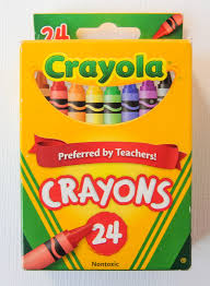 Crayola Bathtub Crayons Collection by 24 Count Crayola Crayons What U0027s Inside The Box Jenny U0027s Crayon