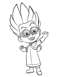 1244x1600 Pj Masks Gecko Coloring Pages Fresh Free