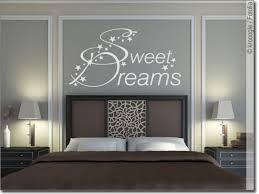 wandtattoo schlafzimmer sweet dreams wandsticker