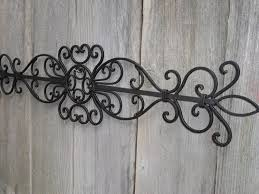 Tuscan Wrought Iron Wall Art Inside Recent Appealing Designs Decor Of Outdoor