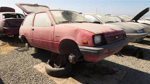 Junkyard Treasure: 1986 Chevrolet Sprint | Autoweek