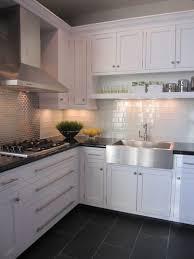 Kitchen Wallpaper Hd Modern White Dark Floor Regarding Cabinets With Floors