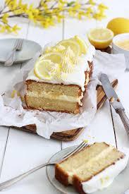 zitrone buttermilch kuchen mit lemon curd