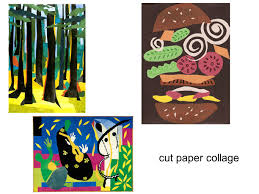 2 Cut Paper Collage