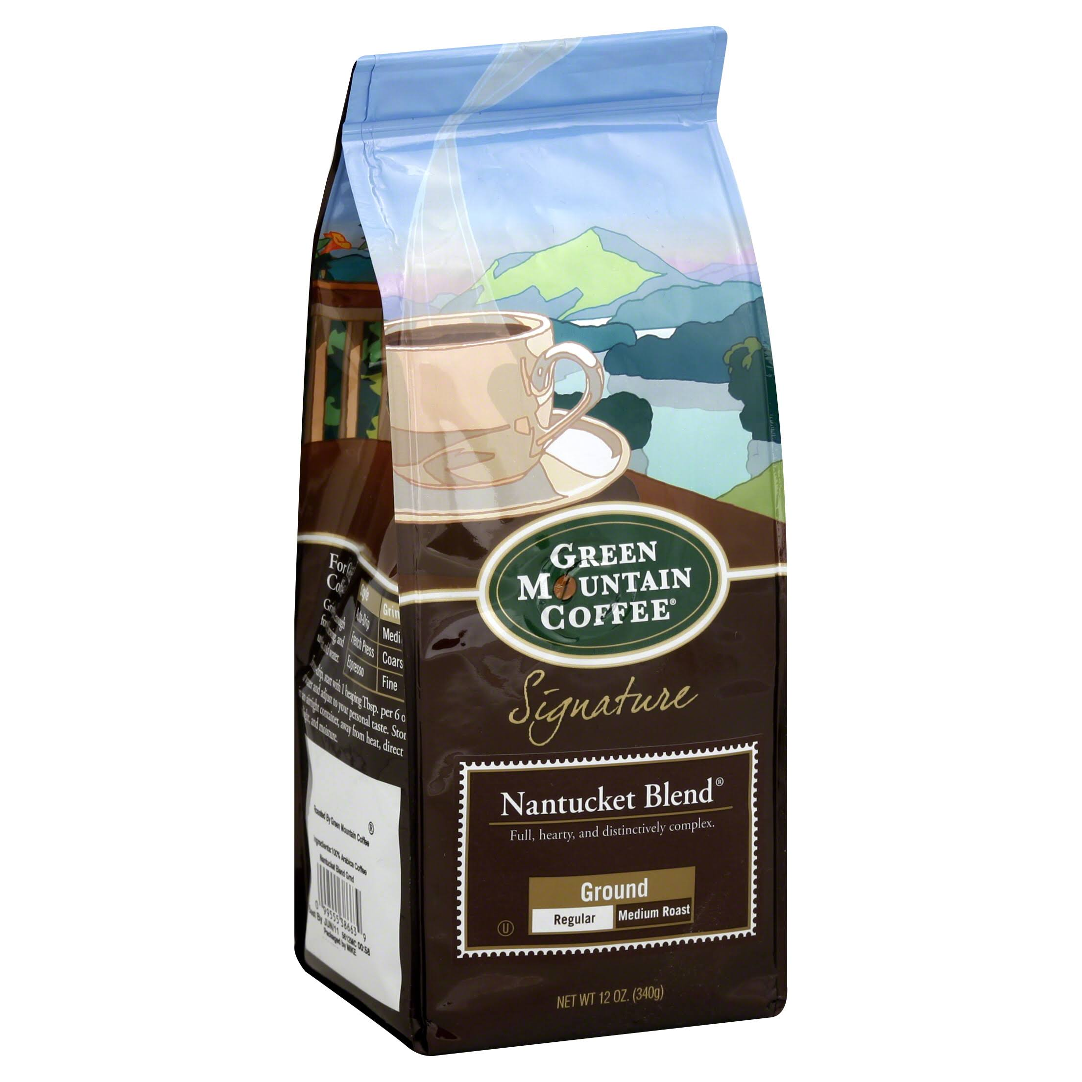 Green Mountain Coffee Signature Nantucket Blend Ground Regular Coffee - Medium Roast, 12oz