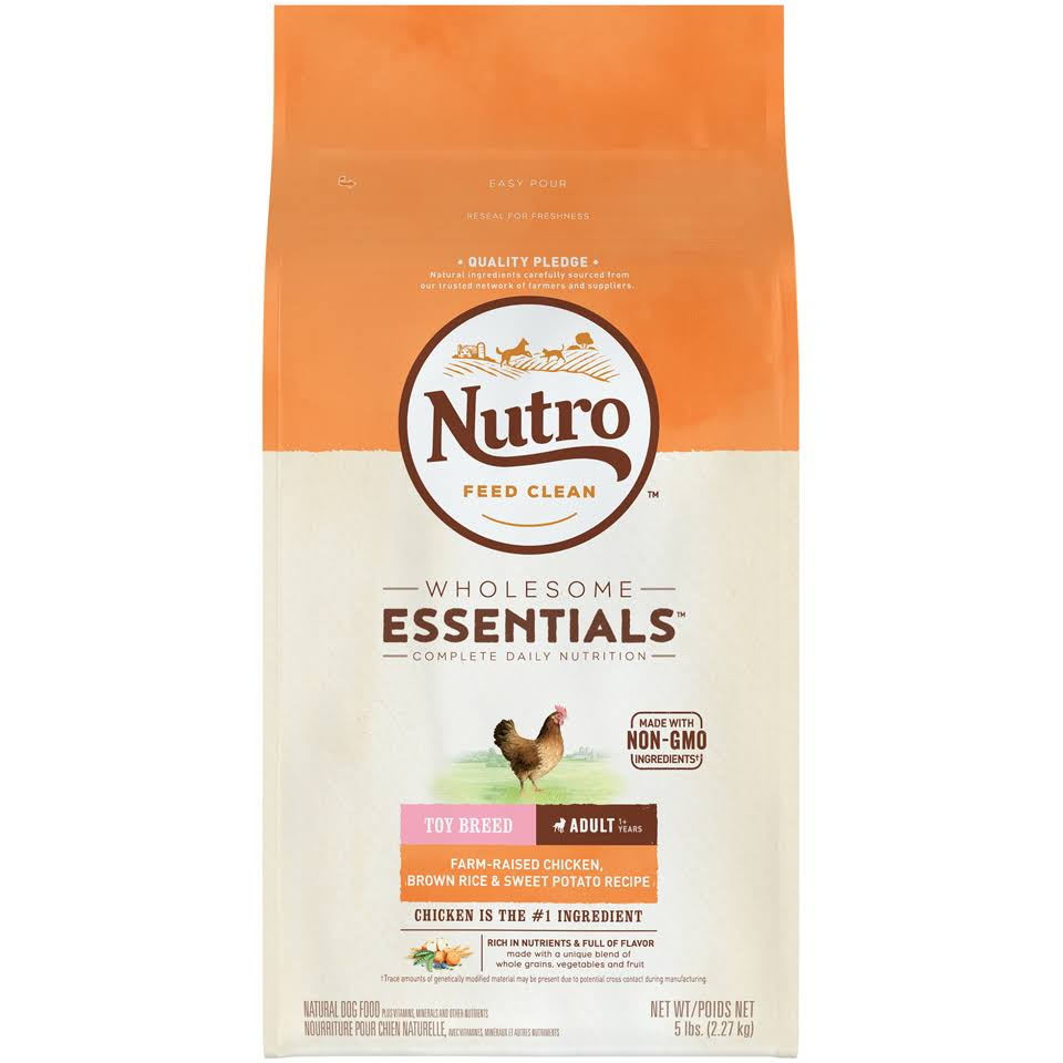 Nutro Wholesome Essentials Adult Dry Dog Food - Chicken Toy Breed, 5lb