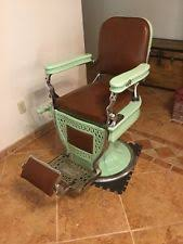 Theo A Kochs Barber Chair Footrest by Antique Barber Chairs Ebay