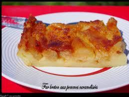 recette de far aux pommes caramélisées la recette facile