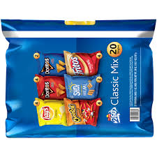 Meijer Christmas Tree Bag by Frito Lay 2go Classic Mix Variety Pack 20 Count 1 Oz Bags
