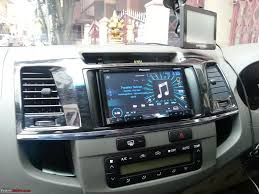 100 Truck Stereo System ICE Upgrade For Toyota Fortuner TeamBHP