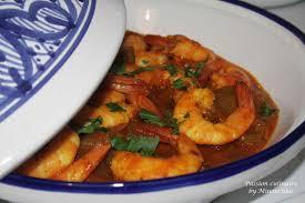 cuisiner avec un tajine en terre cuite tajine aux crevettes culinaire by minouchka
