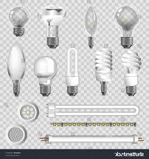 top 10 stock vector ls types of led bulbs isolated icons design