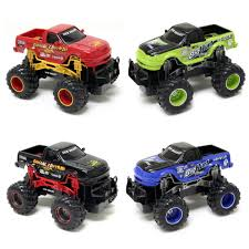 New Bright 1:24 R/C FF Monster Truck Twin Pack - Colors And Styles ... New Bright Rc Radio Control Monster Jam Truck Mutt Amazoncom Ff Bursts Grave Digger 115 Full Function Dragon Green 61030dr 114 Silverado Walmart Canada Buy Zombie 2015 Bright Rc Monster Truck Remote Toys Compare Prices 4x4 Mini Car 16 Vw Transformed To Rcu Forums Goes Brushless With The Frenzy Newb 18 Scale 4 X Mega Blast Red Black Chrome Commercial 2016 96v 110