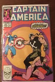1989 Captain America 363 Versus Crossbones Marvel Comics Comic Book Avengers
