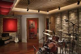 Home Music Studio Design Ideas With Acoustic Treatment Ideal Architecture Roof Decoration