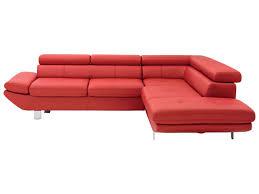 canape d angle en cuir chez conforama canapé d angle fixe 5 places loft coloris en pu vente de