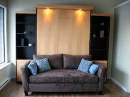 TV on Murphy Bed Contemporary Home Theater Vancouver by