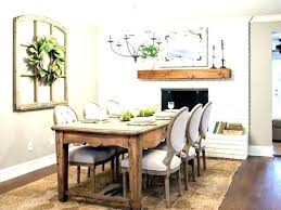 Wall Decor For Dining Room Table Ideas Full Size