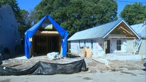 Hemp Insulation Being Used In Lexington House Project
