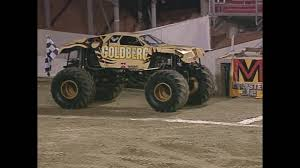 Goldberg Vs Blue Thunder Monster Jam World Finals Racing ... Lifted Trucks Jump One Another In Ultimate Muddin Entrance The Lucas Till On Befriending A Monster Collider Jam Info And History Home 2000 Series Hot Wheels Wiki Fandom Powered By Wikia Just A Car Guy Grave Diggers Freestyle At San Diego Maxd Maximum Destruction Recetemplate Gta5 Parma 110 Goldberg Truck Clodbuster Body 1724573750 Tag Archive For Madusa Kid Amazoncom Rev Tredz Scale 143 Thrasher Pinterest Coloring Pages Cool 28074 164 Diecast Factory