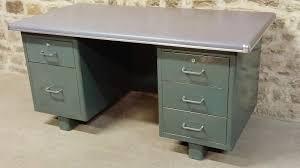 bureau m騁allique industriel bureau metal industriel vintage 1960 les vieilles choses