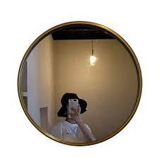 leuchtend runder spiegel badezimmerspiegel glasscheibe