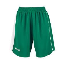 spalding u00274her ii u0027 women basketball shorts green white