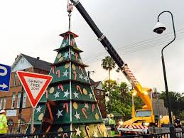 The Grinch Christmas Tree Star by Revealed Lismore U0027s New Recycled Christmas Tree Northern Star