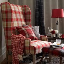 Plaid Living Room Chairs