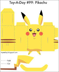 Paper Pokemon Templates Fun Blog Archive Toy Crafts Early Childhood Papercraft Charizard
