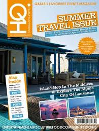 Qatar Happening August 2014 Summer Travel Issue by Qatar