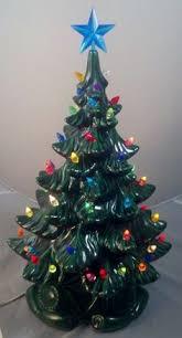 Vintage Atlantic Mold Ceramic Christmas Tree by Vintage Ceramic Christmas Tree Light Ornaments Musical Atlantic